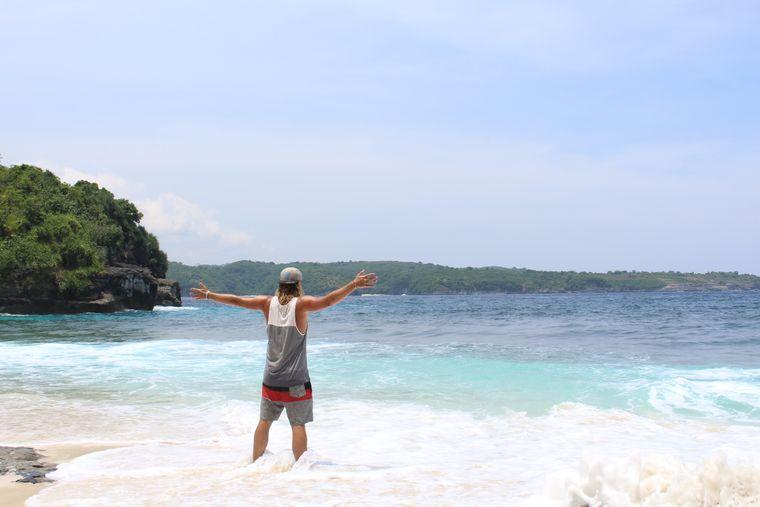 Nick in Indonesien.