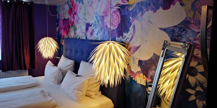 Charmant eingerichtete Zimmer im Hotel Schwarzer Bock.