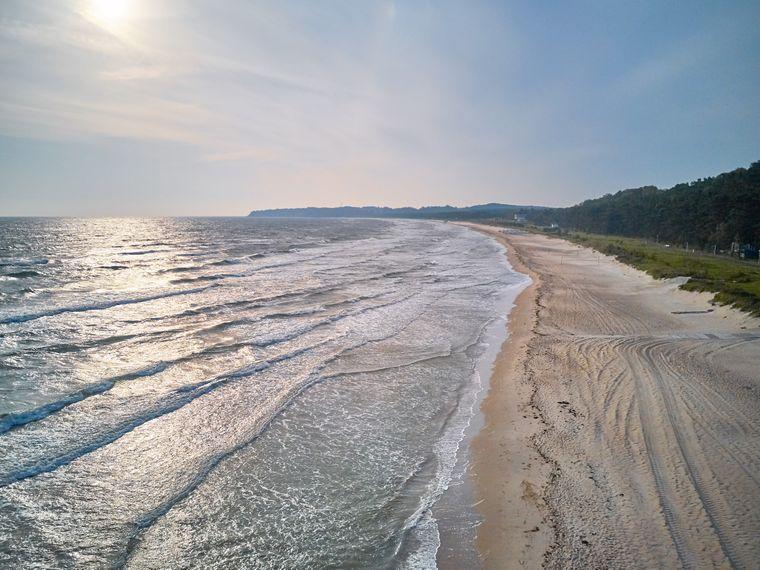 Südstrand an der Ostsee