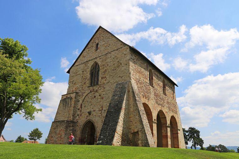 Das Kloster Lorsch in Hessen.