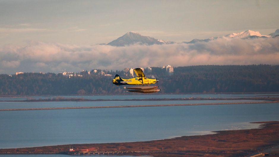 Elektrisches Wasserflugzeug.