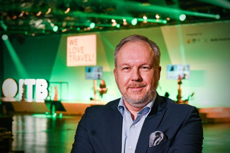 David Ruetz, Head of ITB Berlin, erklärt im reisereporter-Interview, wie die virtuelle ITB funktioniert.