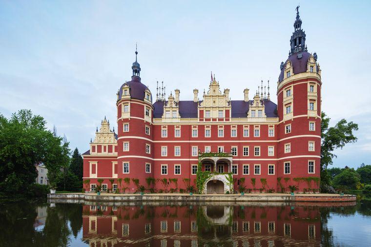 Der Muskauer Park verbindet Polen und Deutschland.