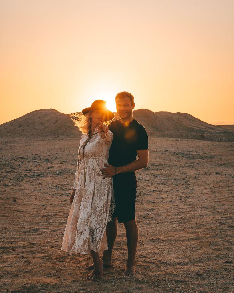Das Paar in Marsa Alam.