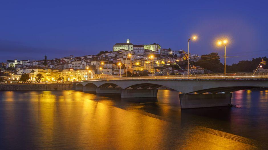 Altstadt und Universität von Coimbra in Portugal