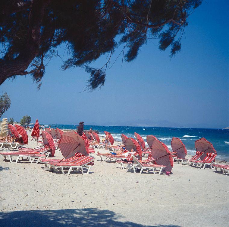 Marmari Strand auf Kos.