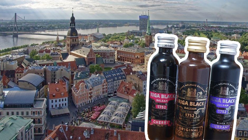 Der Riga Black Balsam ist die Nationalspirituose aus Lettland.