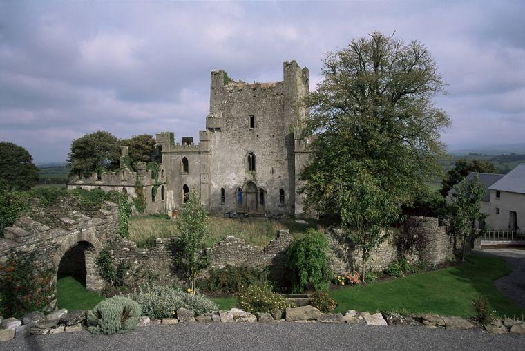 Für Gruselfans: Das Leap Castle ist angeblich von Geistern bewohnt.