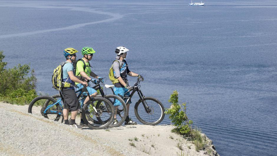 Sloweniens Adria-Küste ist perfekt für eine Mountainbike-Tour.