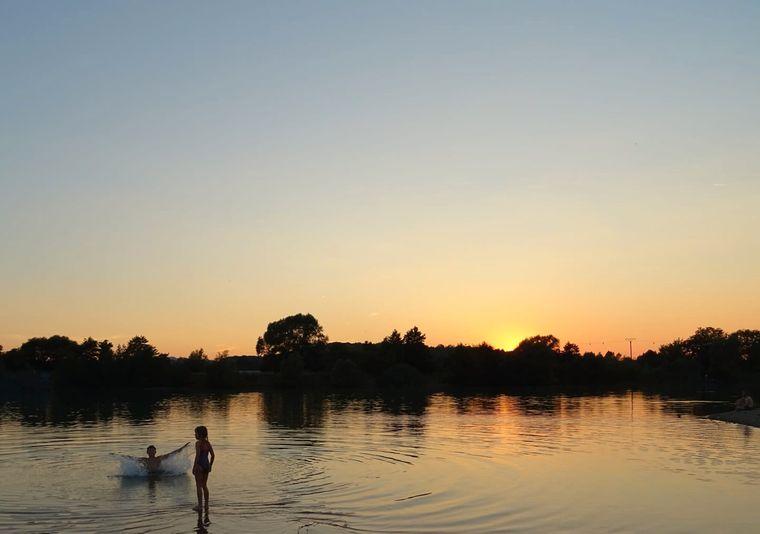 Der Baggersee in Rosdorf