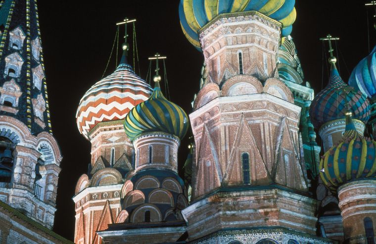 In Moskau steht der Rote Platz auf dem Besichtigungsprogramm.