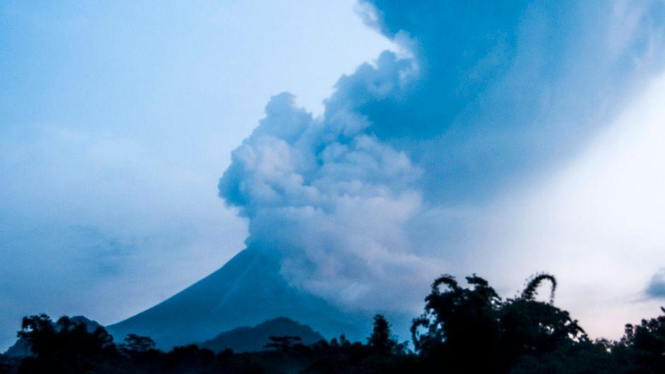 Der Merapi gilt als einer der aktivsten und gefährlichsten Vulkane der Welt.