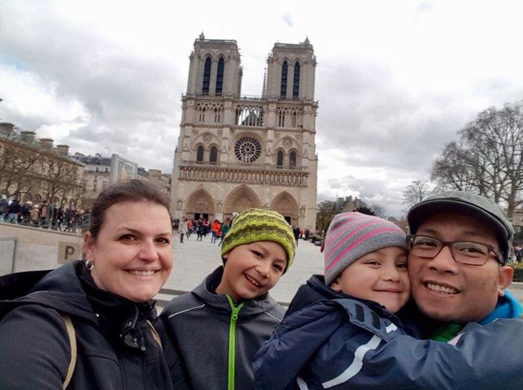 Familienurlaub! Facebook-Nutzerin Di Nopi hat uns dieses Foto geschickt.
