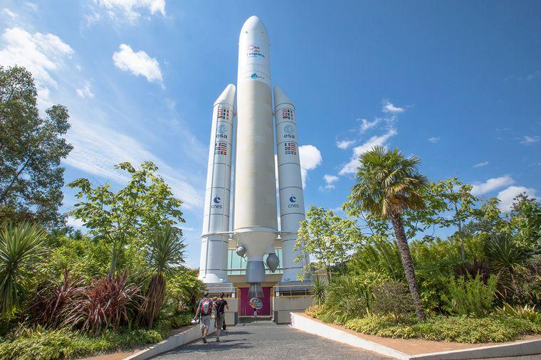 Die Cité de l'espace ist das Raumfahrtzentrum von Toulouse. Hier sehen Besucher zum Beispiel ein baugleiches Forschungsmodell der Raumstation Mir.
