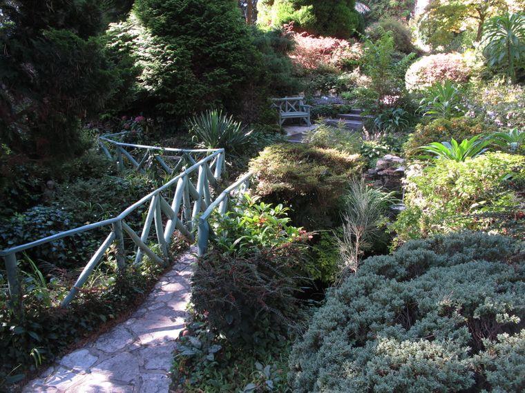 Eine Oase der Ruhe: In den Compton Acres Gardens lässt es sich wunderschön entspannen.