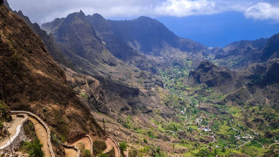Das Paul Valley auf der Insel Santo Antao auf den Kapverden.