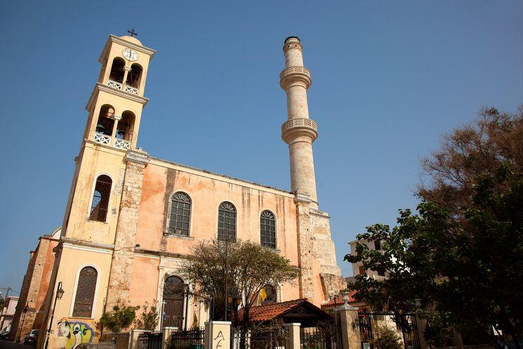 Die Sankt-Nikolaus-Kirche in Chania.
