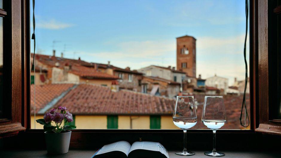 In Italien sind jetzt wieder traditionelle Weinfenster zu finden.