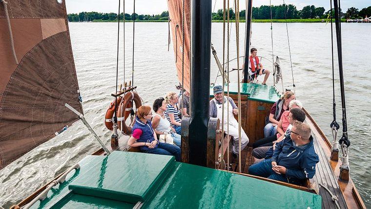 Eine Bootsfahrt auf dem Zeesboot