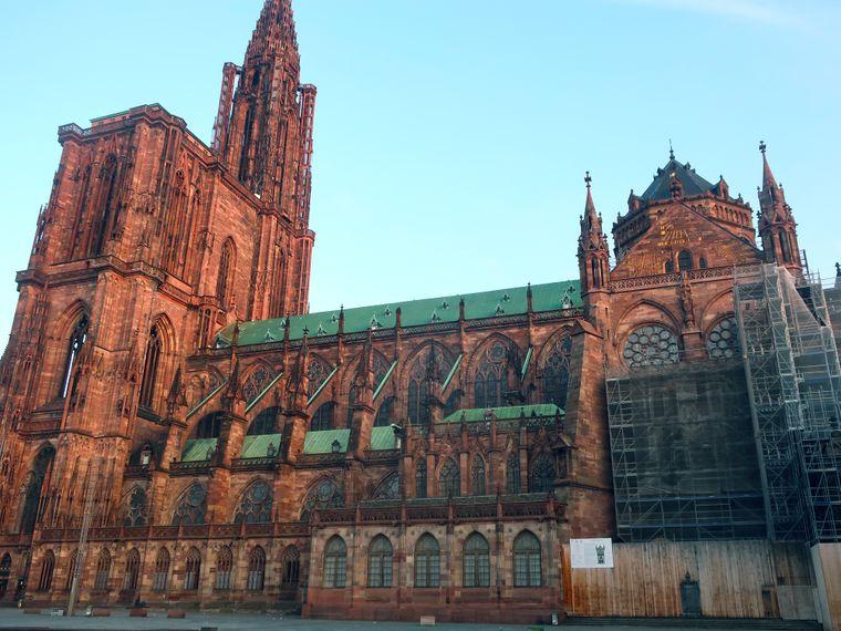 Das Liebfrauenmünster in Straßburg.