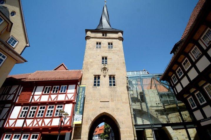 """""""Stadtluft macht frei"""" lautet der Titel der Dauerausstellung im Schützenmuseum."""
