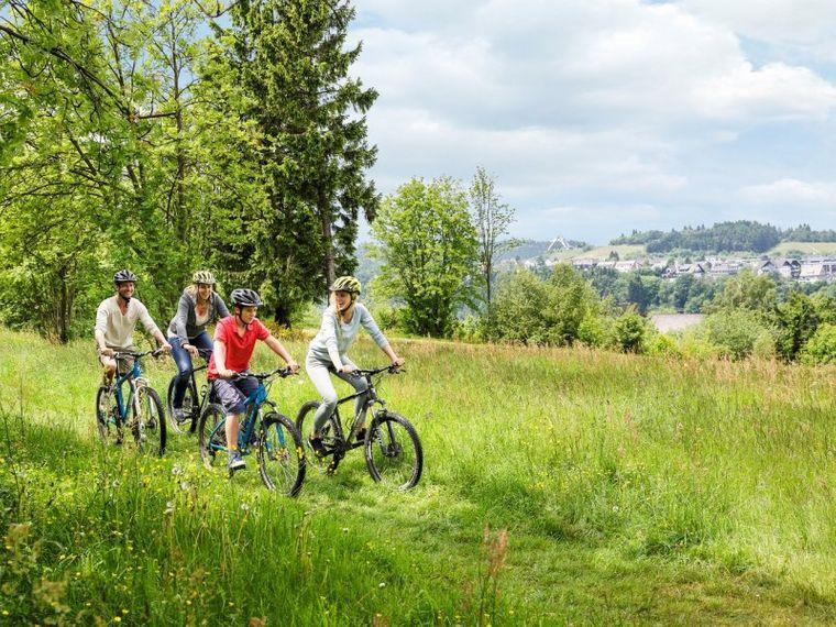 Radtour mit der ganzen Familie