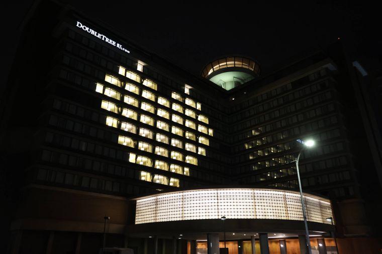 Auch Hotels in der US-Hauptstadt Washington beteiligen sich an der Aktion.