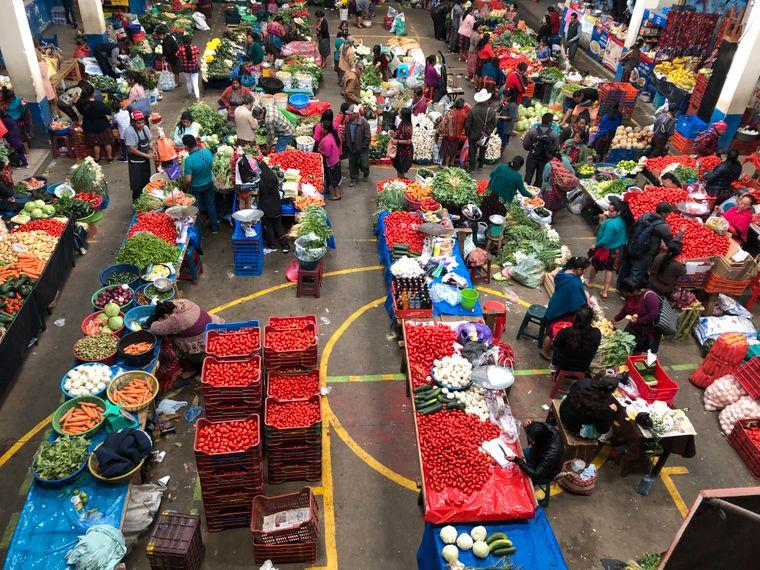 Der Markt in Chichicastenango ist der größte in Zentralamerika.