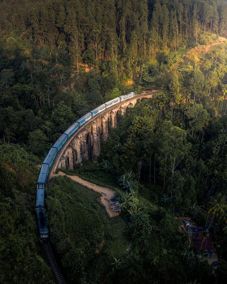 """""""Manchmal ist der beste Teil der Reise die Reise"""" von @leemumford8 aus Großbritannien. Ort: Sri Lanka."""