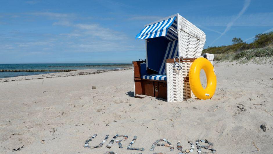 Urlaub 2020: Der Strand in Ahrenshoop belegt Platz neun.