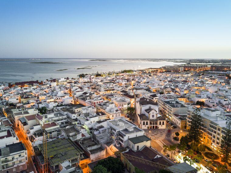 Die Architektur in Olhao ist für Portugal einzigartig.