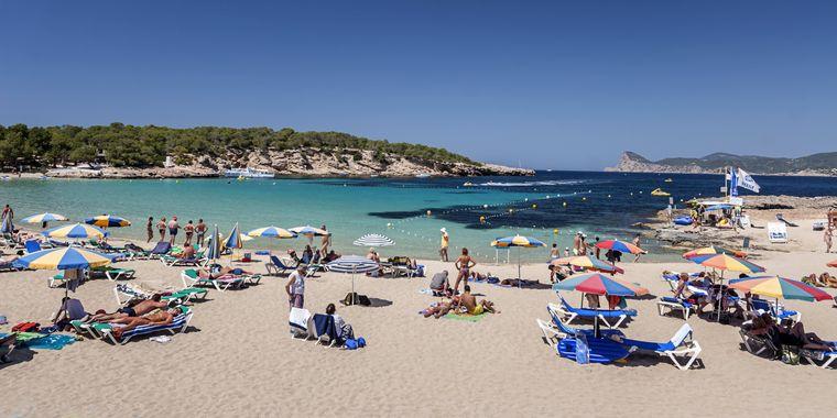Strand Cala Bassa, Ibiza