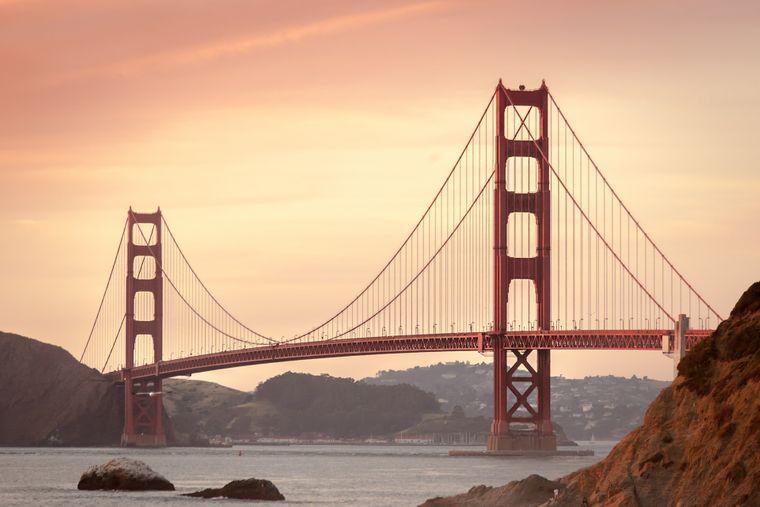 Platz 8: San Francisco, USA (durchschnittlich 178 Dollar, etwa 152 Euro, pro Nacht).