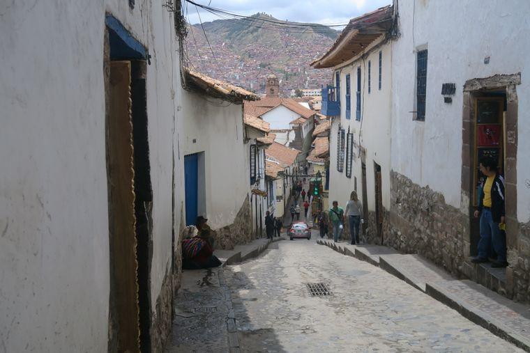 Anden-Städte wie Cusco bestehen teilweise bis zu 30 Prozent aus originalen Inka-Fundamenten.