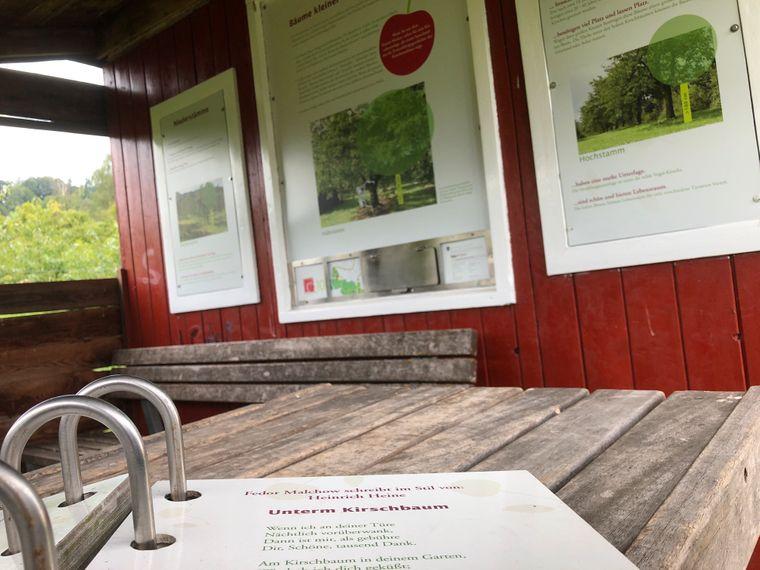 Die Stationen liefern jedem Besucher neue interessante Informationen.