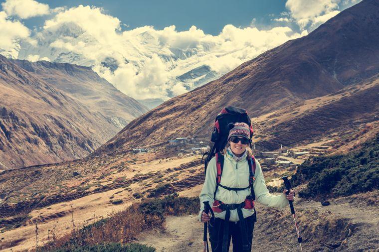 Eine Wanderung auf dem Annapurna Circuit in Nepal machst du am besten zwischen September und Mai.