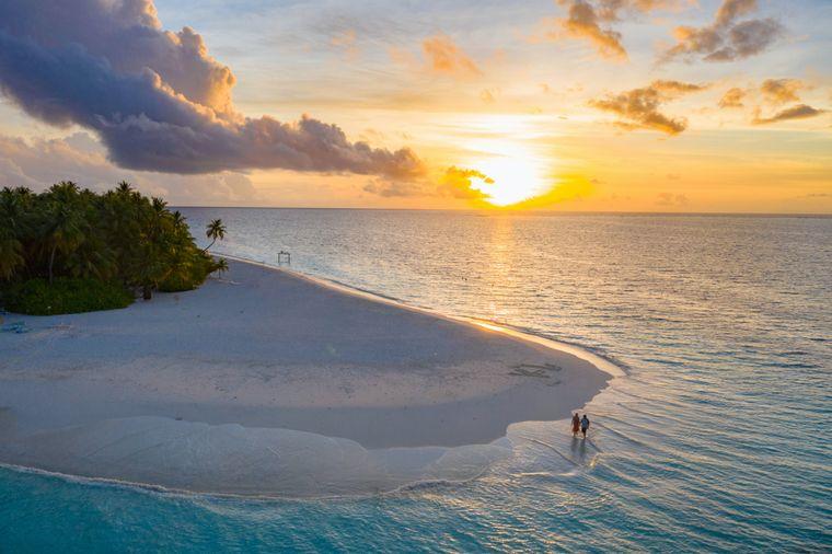 Sonne und Wärme genießen im November: Das geht auf den Malediven sehr gut.