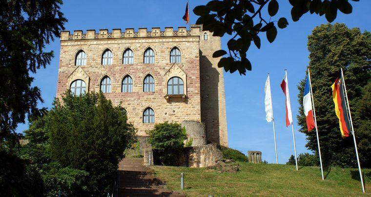 Das Hambacher Schloss ist seit 2015 Europäisches Kulturerbe.