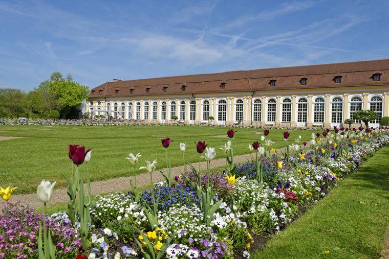 Die Schlossanlage im fränkischen Ansbach ist regelmäßig die Kulisse vieler Veranstaltungen.