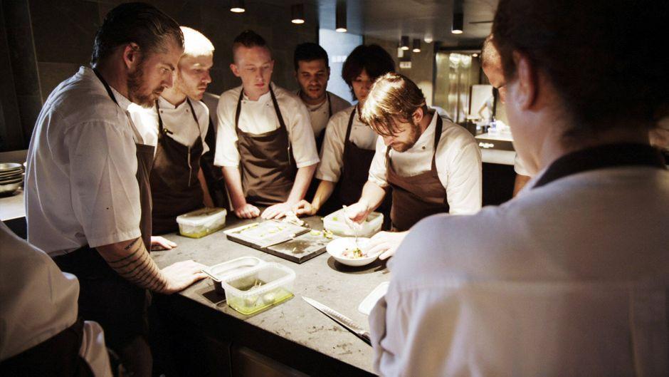 Küchenchef René Redzepi im Restaurant Noma in Kopenhagen, Dänemark