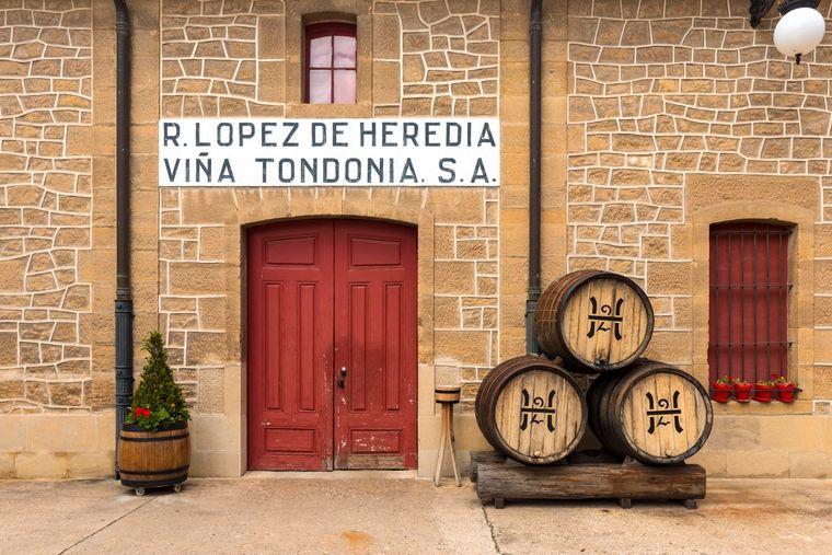Das Weingut Vina Tondonia gehört zu einem der traditionellen im spanischen Haro.