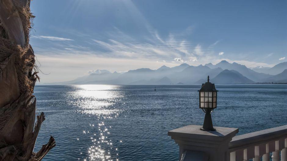 Blick auf den Golf von Antalya.