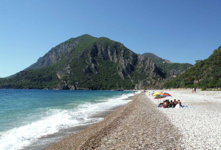 Bekannt ist Cirali in der Türkei vor allem für den ökologischen Tourismus.