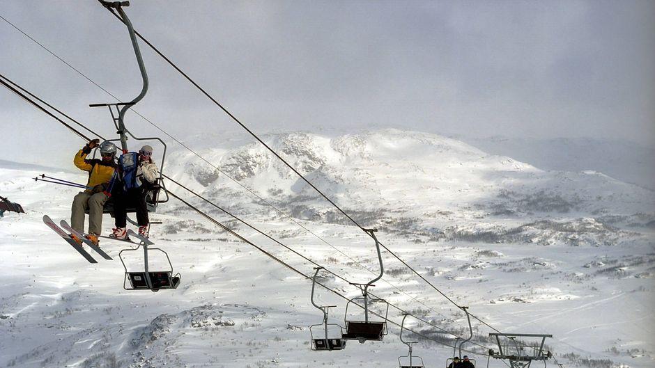 Die Skigebiete in Schweden sind trotz Pandemie weiter gut besucht. (Symbolbild)