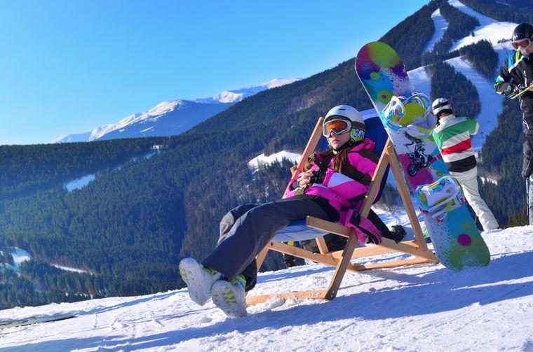 Skispaß am Kronsplatz