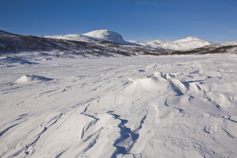 Der Gletscher Hardangerjøkul ist in Episode V zu sehen: Er war Filmkulisse für die Außenszenen auf dem Eisplaneten Hoth.