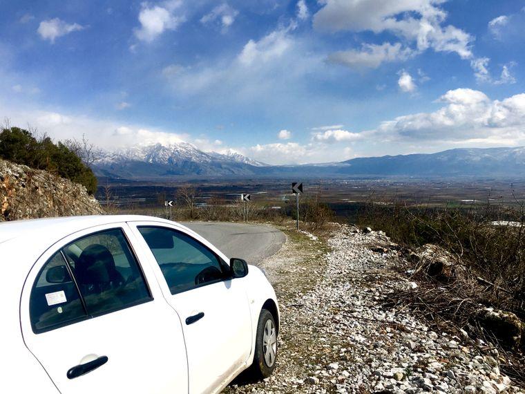 Mit dem Mietwagen durch Griechenlands Norden.