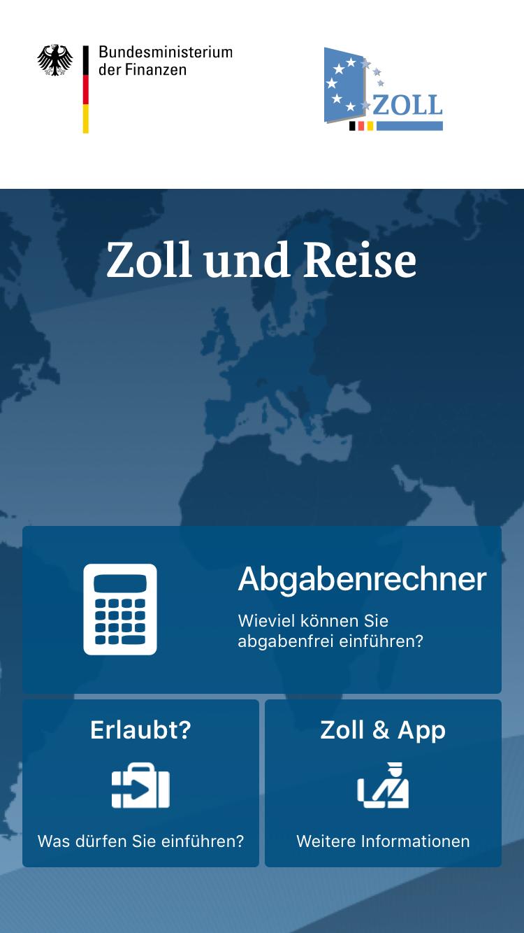Die Zoll-und-Reise-App erklärt dir genau, was du nach Deutschland einführen darfst und was nicht.