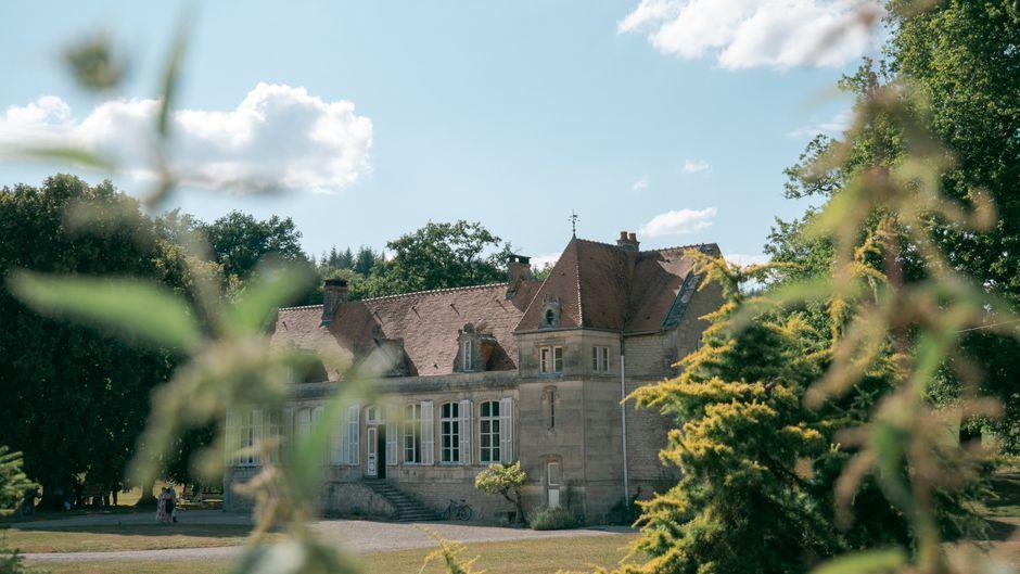 Das Schloss Fontainebleau in Frankreich.