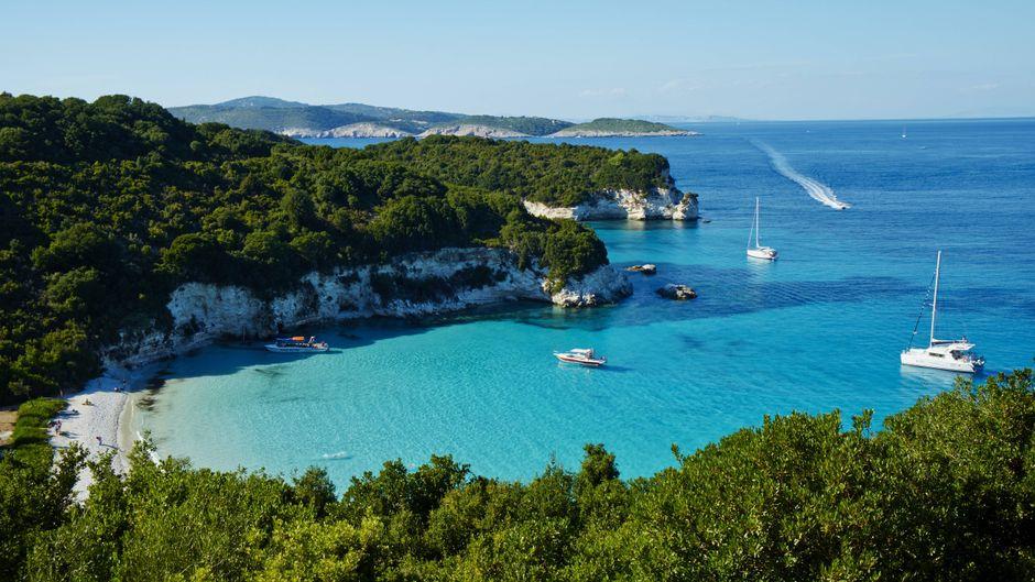Strandschönheit: Voutoumi auf der griechischen Insel Antipaxos.